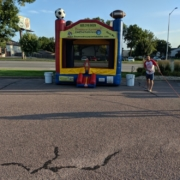 Highest Health Chiropractic, Sioux Falls Back to School Bash - inflatable