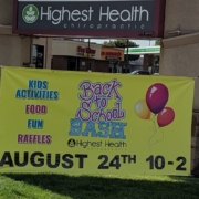 Highest Health Chiropractic, Sioux Falls Back to School Bash