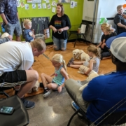 Highest Health Chiropractic, Sioux Falls Back to School Bash 2019 puppies