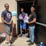 2019 Students Cotton Candy at Highest Health Chiropractic!